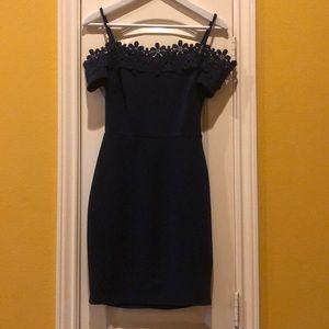 Navy blue size 5/6 semi formal dress
